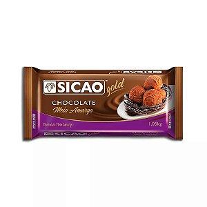 Chocolate meio amargo Gold 1,05Kg