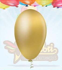 Balão Dourado Metalizado Pic Pic 7.0