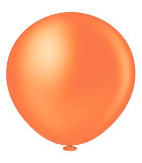 Balão Fatball 250 Liso Laranja Pic Pic