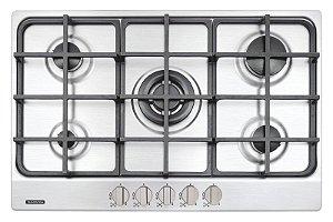 Cooktop em Aço Inox Com 5 Queimadores 94716114