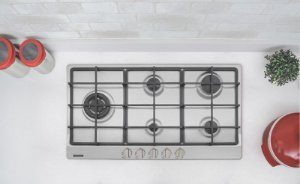 Cooktop em Aço Inox Com 5 Queimadores 94752104