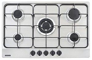 Cooktop em Aço Inox Com 5 Queimadores 94716111