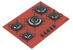 Cooktop Glass Vermelho Penta 5gg 94708281