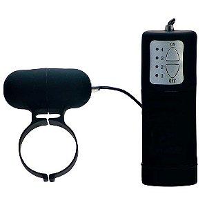 Anel Vibrador - 4 Velocidades - Áqua Silk
