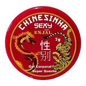 Chinesinha Sexy Pomada Excitante Aquecedora - 7g
