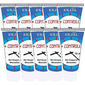 + Controle Retardador da Ejaculação - 15 ml - 10 Un