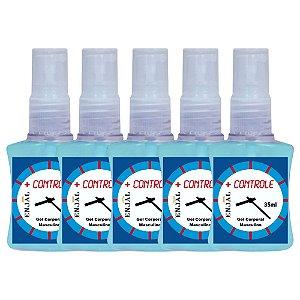 + Controle Retardante da Ejaculação - 35 ml - 05 Un