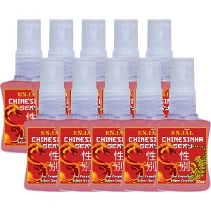 Chinesinha Sexy - Spray Aquecedor - 35 ml - 10 Un
