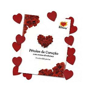 Pétalas Afrodisíacas Coração - Coleção Love - 120 Un