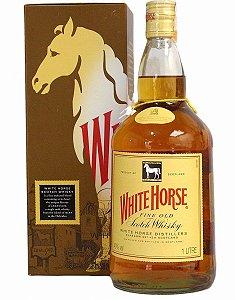 Whisky Escocês White Horse 8 Anos Garrafa 1 Litro