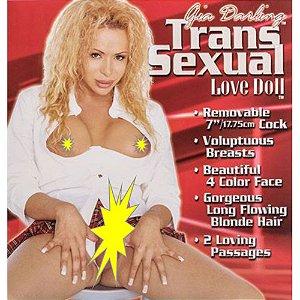 Boneca Inflável Travesti com Pênis - Gia Darling Transsexual
