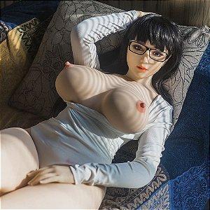 Boneca Realística Morena Cyber Skin 42 kg 1,63 m de Altura