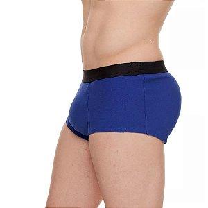 Cueca Mini Boxer com Enchimento Traseiro Azul Tam. P