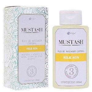 Óleo para Massagem Mustash Silk Sun 100 ml