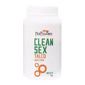 Clean Sex Talco para Produtos em Cyber Skin
