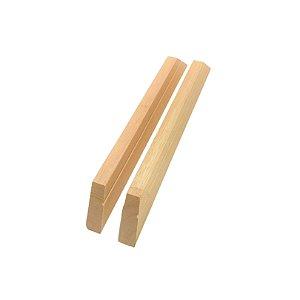 Par de chassi 25cm | CHASSI COMUM 3,0x1,5x1,0