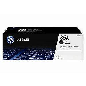 Toner Laserjet Mono HP Suprimentos CB435A Hp 35A Preto P1005 / P1006