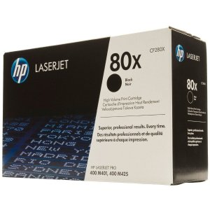 Toner HP 80X HP CF280X Preto Original Laserjet M401dw M425dni
