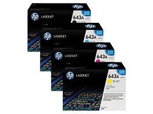 Cartucho de toner LaserJet HP 643A original |Q5950 - Q5951 - Q5952 E Q5953 |