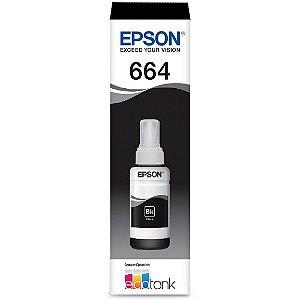 Refil para Ecotank preto T664120AL Epson T644