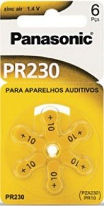 Bateria Auditiva Panasonic - PR230H
