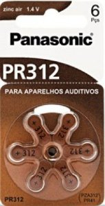 Bateria Auditiva Panasonic - PR312H