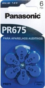 Bateria Auditiva Panasonic - PR675H