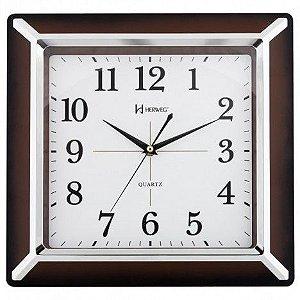 Relógio de Parede Herweg - 6268 - Marrom Metálico