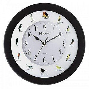 Relógio de Parede Herweg Musical Modelo 6370 - Pássaros