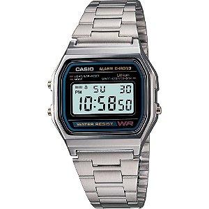 Relógio Casio Vintage A158WA-1DF - Prata