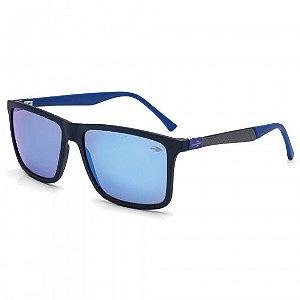 Óculos Mormaii Solar Masculino Modelo KONA PLUS M0058I4212 Azul Fosco Fibra de Carbono Espehado