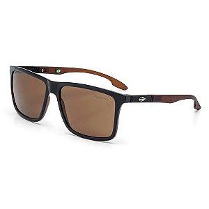 Óculos Mormaii Solar Masculino Modelo Kona M0036AA636 -Marrom e Preto - Lentes Marrom Polarizadas