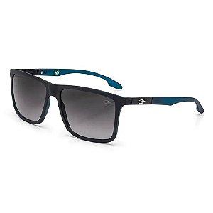 Óculos Mormaii Solar Masculino Modelo KONA - M0036AA833 - Preto com verde petróleo com lentes cinza Degradê