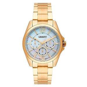 Relógio Orient Feminino FGSSM054-B2KX Multifunção, dourado