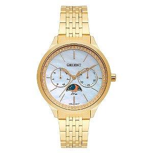 Relógio Orient Feminino Multifunção FGSSM059-B1KX Dourado - Fases da Lua