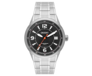 Relógio Orient Masculino MBSS1269-P2SX Análogo Aço Inox - Preto