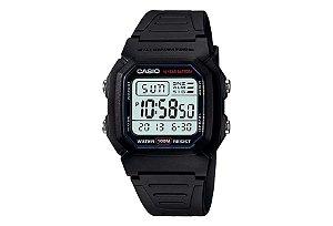 Relógio Casio W-800H-1AVDF DIGITAL - serie Prata