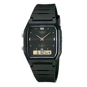 Relógio Casio AW-48HE-1AVDF Anadigi