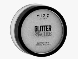 Glitter para Olhos Branco
