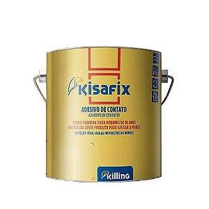 Cola Adesiva de Contato Kisafix - Galão 2.8 Kg