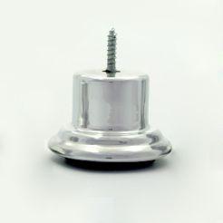 Pé Aluminio 6cm