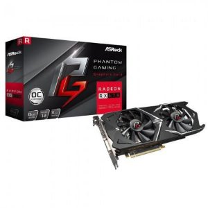 Placa de Vídeo Asrock RX-570 Gaming X Oc 8GB