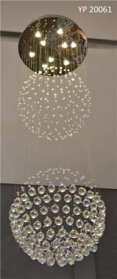 LUSTRE DE CRISTAL PLAFON 9 LAMPADAS
