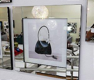 Quadro 03 c/ moldura de espelho - Bolsa