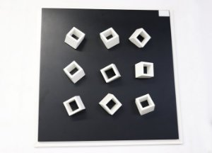 Quadro 09 - Geométrico Preto