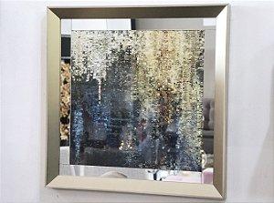 Quadro 13 - Gold (moldura c/ espelho)