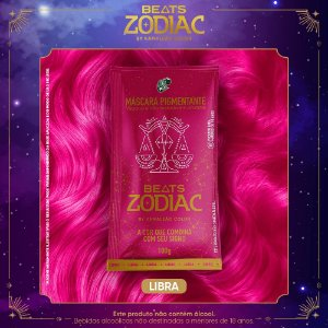 Máscara Pigmentante - Beats Zodiac by Kamaleão Color - Libra 100g