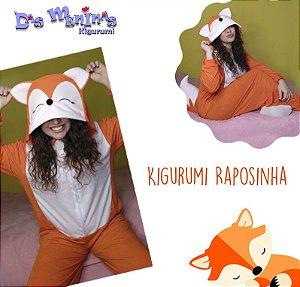 Kigurumi Raposinha - G Adulto