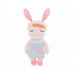 Mini Boneca Doll Angela Clássica Cinza - Metoo