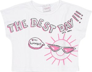 BLUSA MC THE BEST DAY OFF - Momi